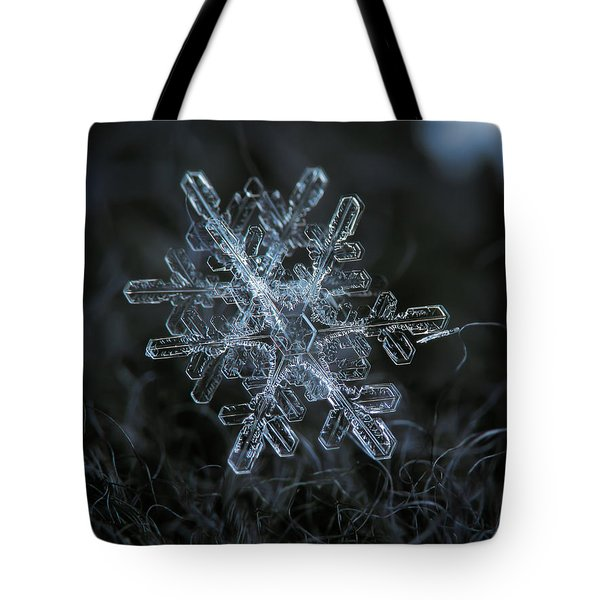 Snowflake Of January 18 2013 Tote Bag