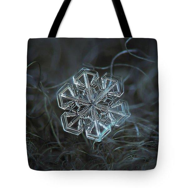 Snowflake Photo - Alcor Tote Bag