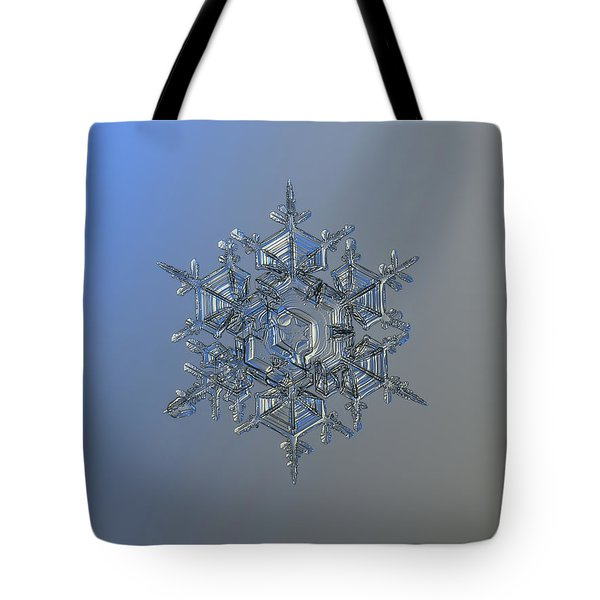 Snowflake Photo - Crystal Of Chaos And Order Tote Bag