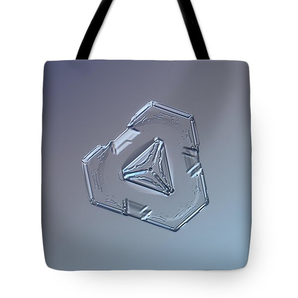 Snowflake Photo - Enigma Tote Bag