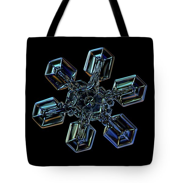 Snowflake Photo - High Voltage IIi Tote Bag