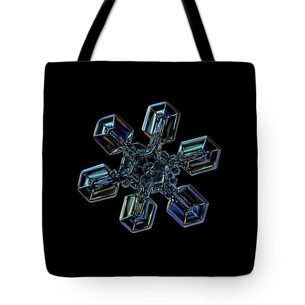 Snowflake Photo - High Voltage IIi Tote Bag