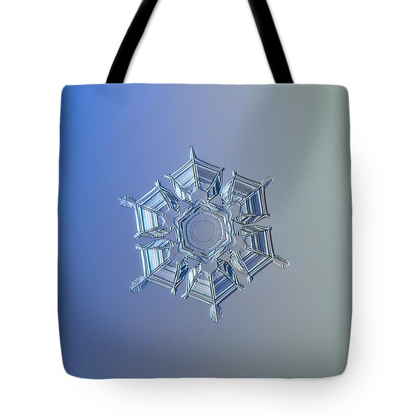 Snowflake Photo - Ice Relief Tote Bag