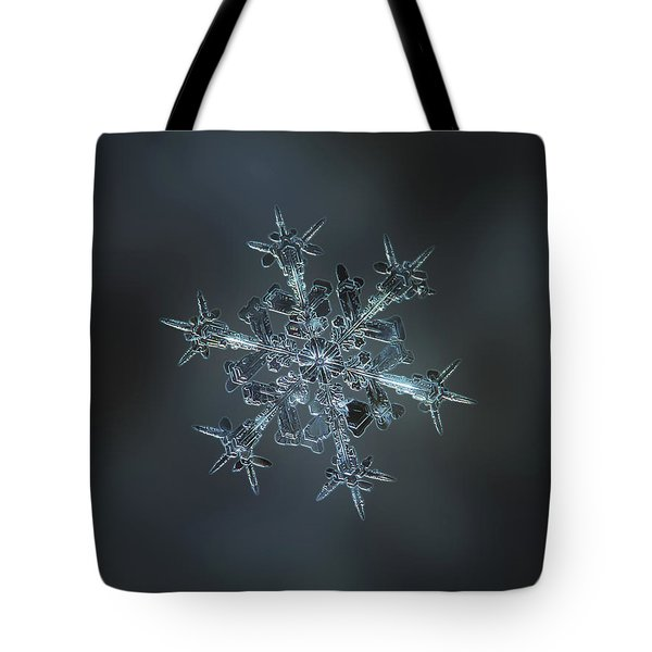 Snowflake Photo - Starlight II Tote Bag