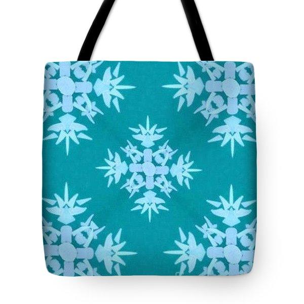 Snowflake Tote Bag by Stan Tenney