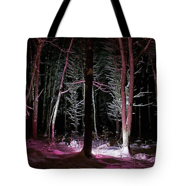 Snowgenta Tote Bag