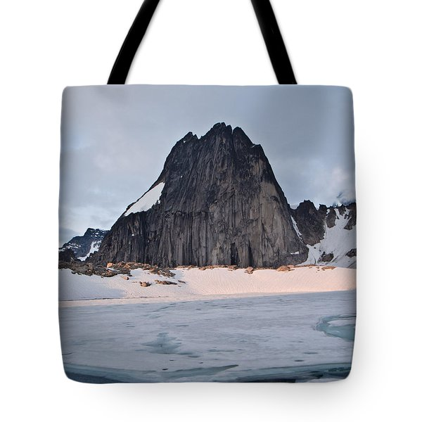Snowpatch Spire Tote Bag