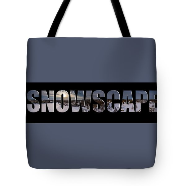 Snowscape Tote Bag