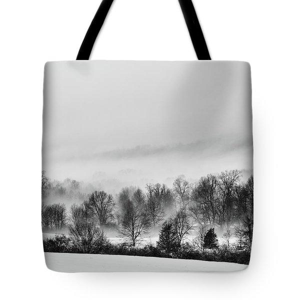 Snowscape Tote Bag by Nicki McManus