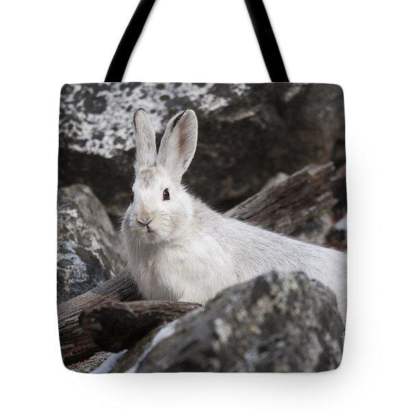 Snowshoe Tote Bag
