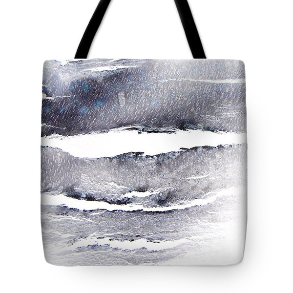 Tote Bag featuring the photograph Snowstorm In The High Country by Lenore Senior