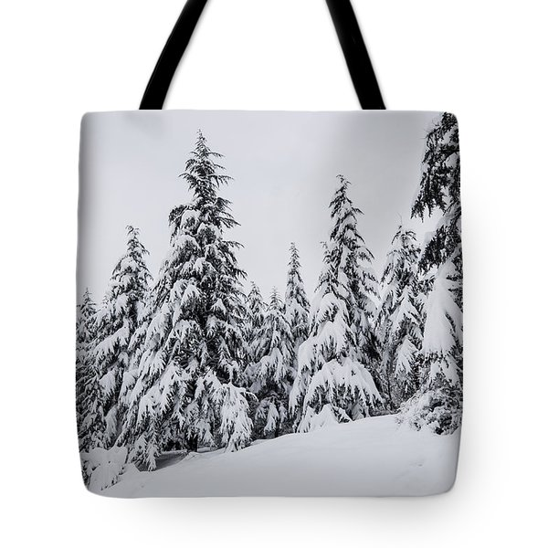 Snowy-1 Tote Bag