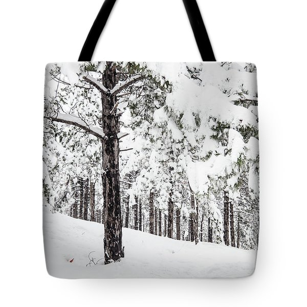 Snowy-4 Tote Bag