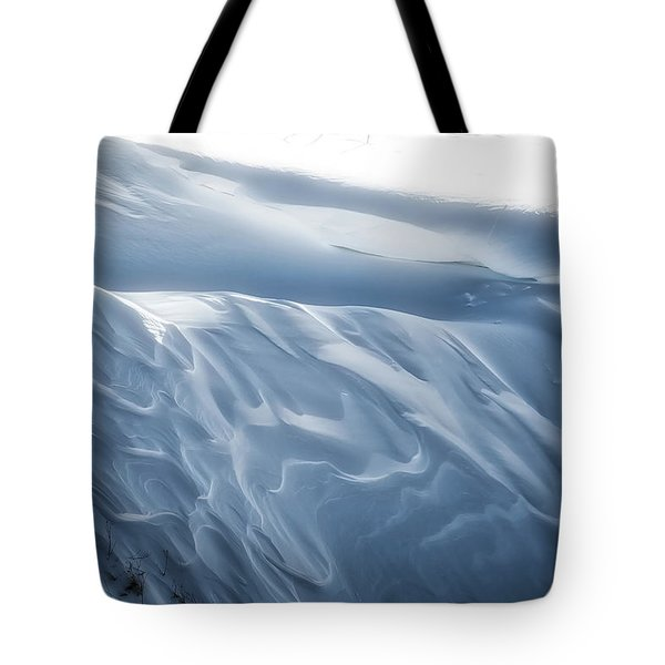 Snowy Days Tote Bag
