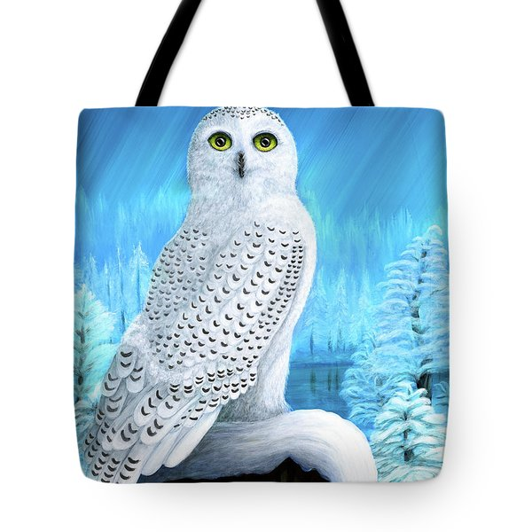 Snowy Delight Tote Bag