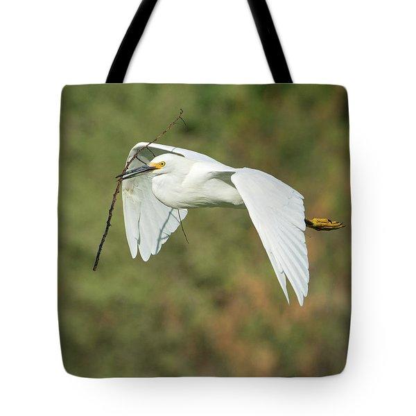 Snowy Egret 4786-091017-1cr Tote Bag