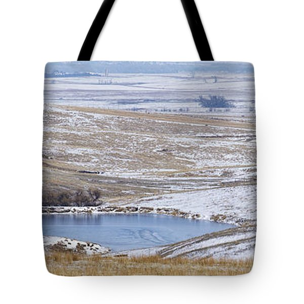 Tote Bag featuring the photograph Snowy Hills 2 by Rob Graham