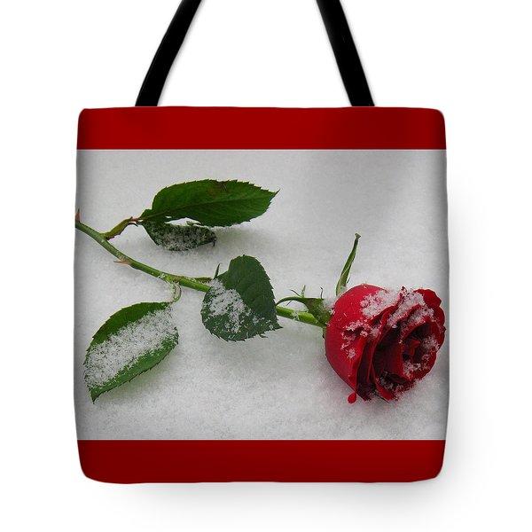 Richard's  Rose Tote Bag