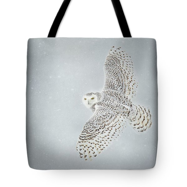 Snowy Winter Tote Bag