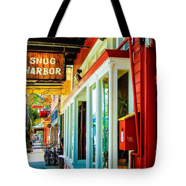 Snug Harbor Jazz Bistro- Nola Tote Bag by Kathleen K Parker