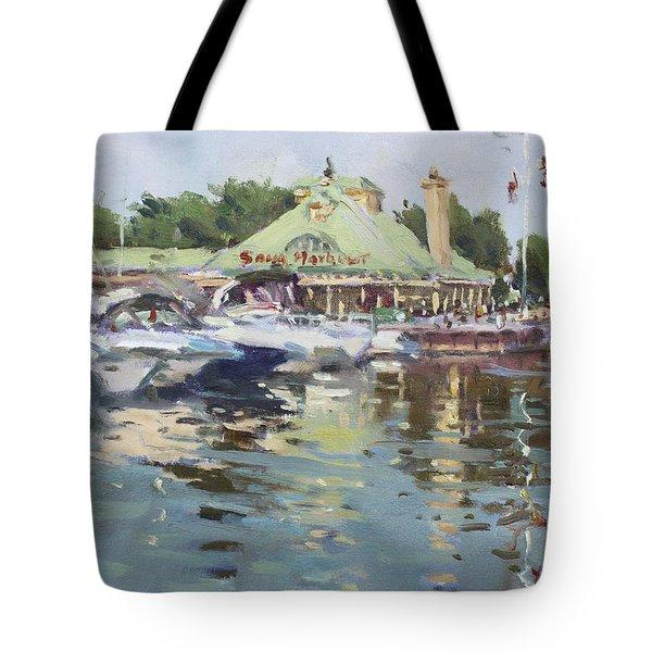 Snug Harbour Mississauga On Tote Bag