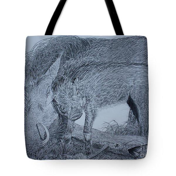 Snuggle Tote Bag by David Joyner