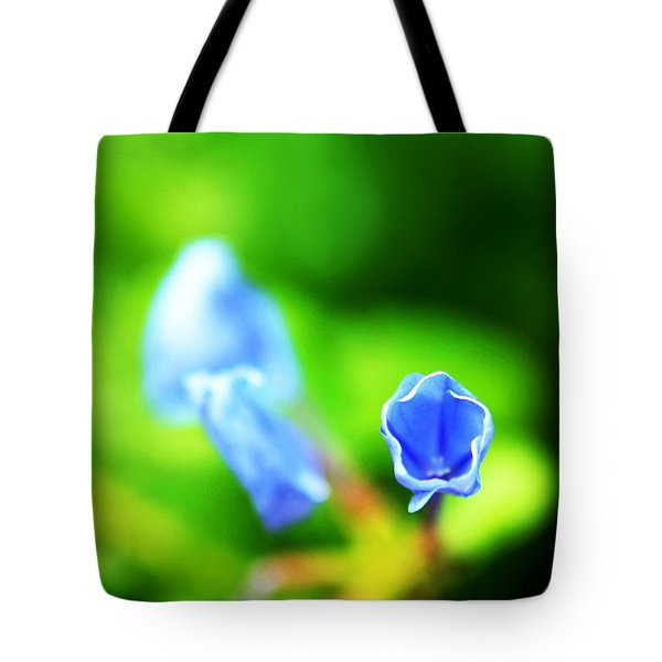 So Blue Tote Bag by Greg Allore
