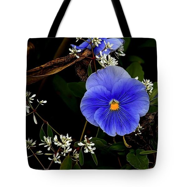 So Blue Tote Bag