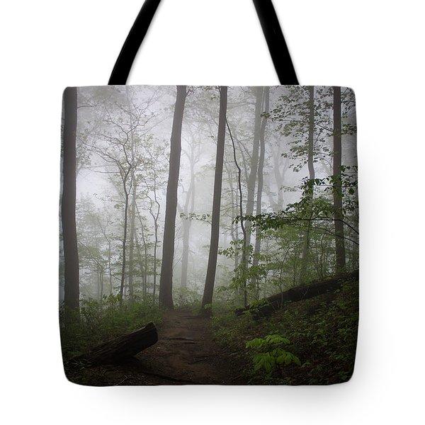 So Foggy Tote Bag