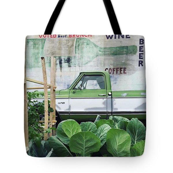 So Fresh. #minneapolis #beer #wine Tote Bag by Heidi Hermes