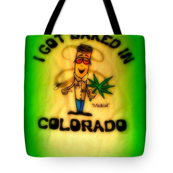 So High Too Tote Bag