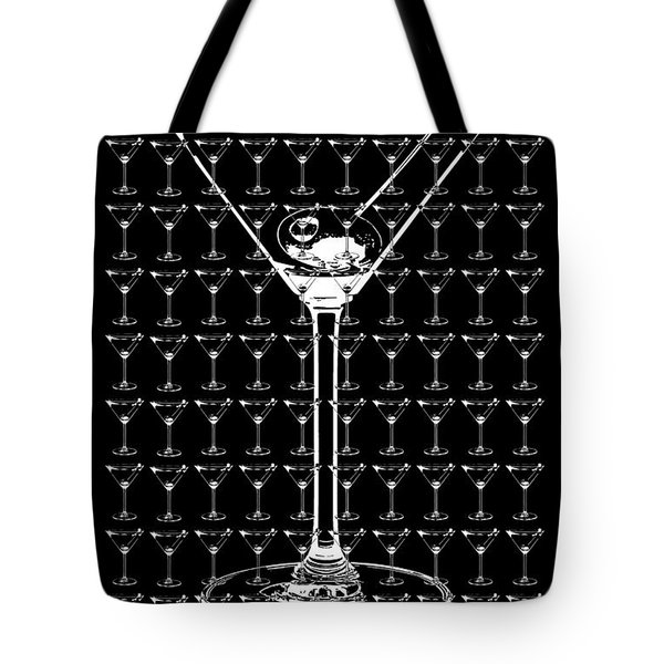 So Many Martinis So Little Time Tote Bag by Jon Neidert