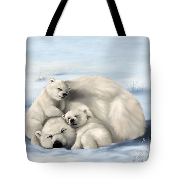 Tote Bag featuring the painting So Much Love by Veronica Minozzi