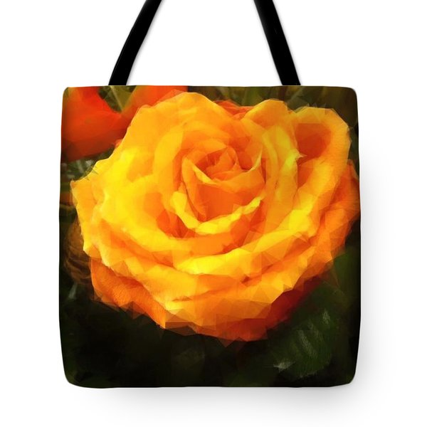 Tote Bag featuring the photograph So Rosy by Gayle Price Thomas
