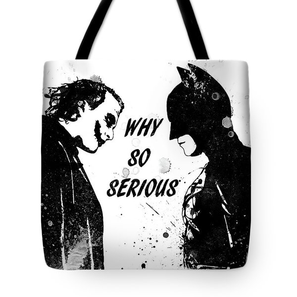 So Serious Tote Bag