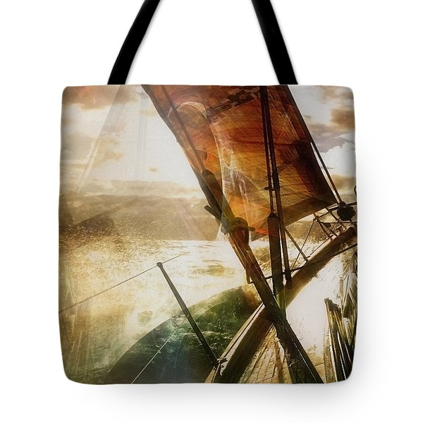 So She Did  Tote Bag by Danica Radman