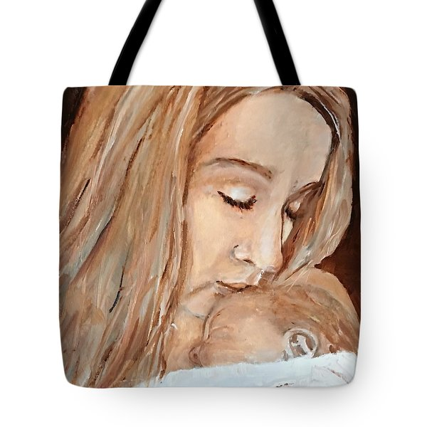 So This Is Love Tote Bag by MaryAnne Ardito