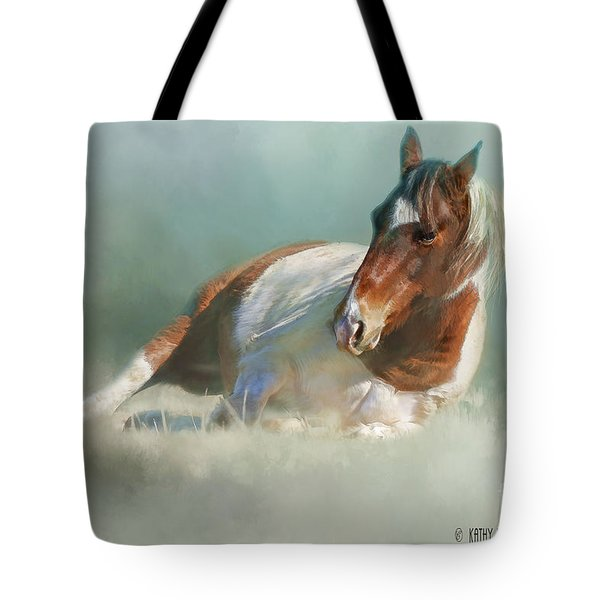Soaking Up Some Sun Tote Bag by Kathy Russell