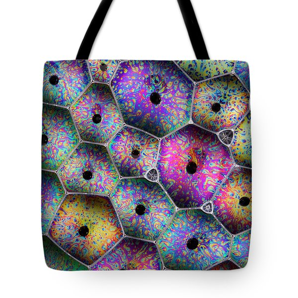 Tote Bag featuring the photograph Soap Suds Drama by Jean Noren