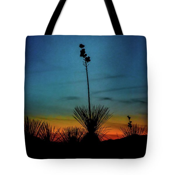 Soaptree Yucca At Sunset Tote Bag