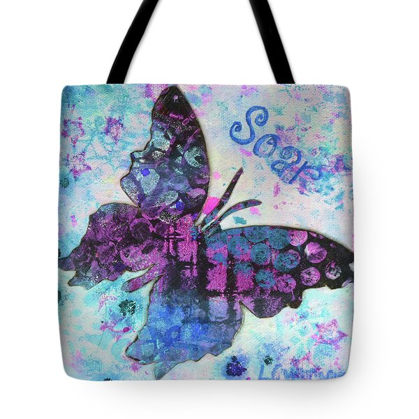 Soar Butterfly Tote Bag