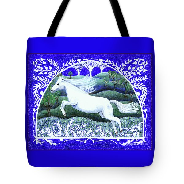 Tote Bag featuring the painting Soar by Lise Winne