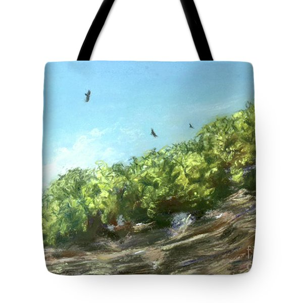 Soaring Above The North Rim Tote Bag