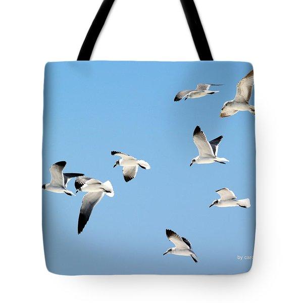 Soaring Tote Bag by Athala Carole Bruckner