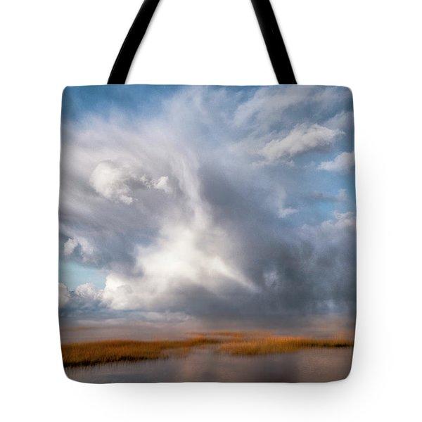 Soaring Clouds Tote Bag