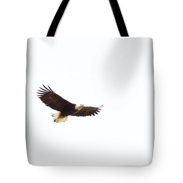 Tote Bag featuring the photograph Soaring High 0881 by Michael Peychich