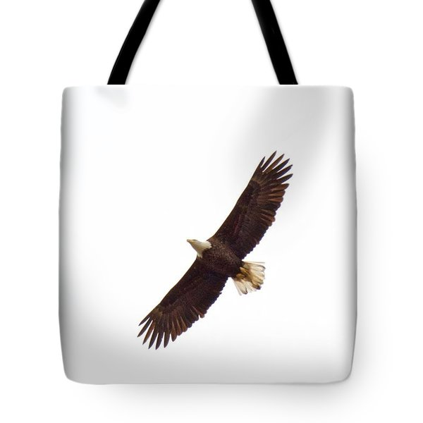 Tote Bag featuring the photograph Soaring High 0885 by Michael Peychich