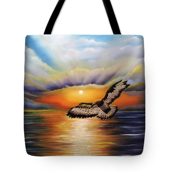 Soaring High Tote Bag by Dianna Lewis