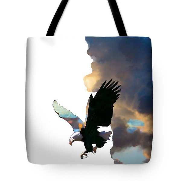 Soaring High Tote Bag by Ursula Freer