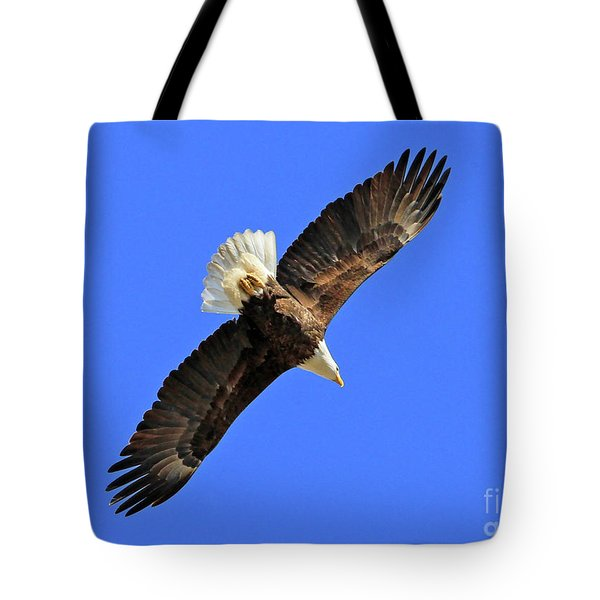 Soaring Into The Blue  Tote Bag